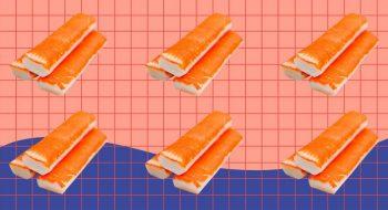 Yengeç Çubukları (Surimi) ile 10 İlginç Salata Tarifleri